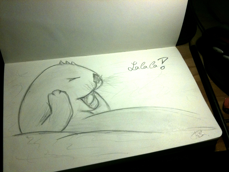 Otter can't hear you!